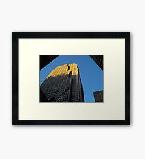Rockefeller Center Framed Print