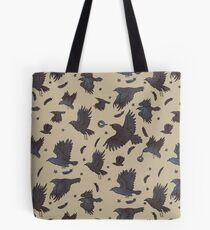 Flight of Ravens Tote Bag
