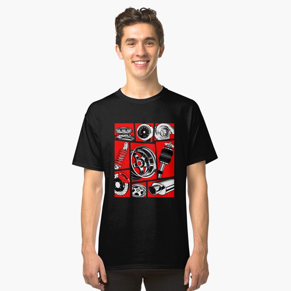 Cultura del coche Camiseta clásica