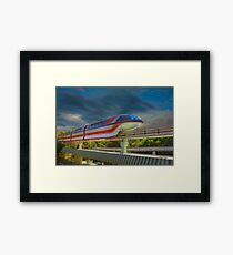 Monorail Framed Print