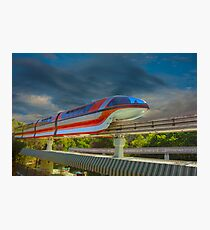 Monorail Photographic Print