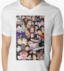 Dan and Phil Collage Men's V-Neck T-Shirt