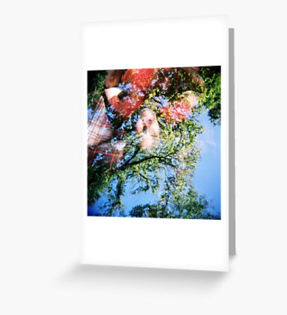 Picnic in the sky Greeting Card