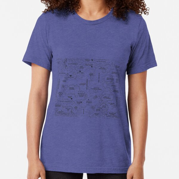 The Mighty Land of Vanth Tri-blend T-Shirt