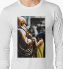 Touching Buddha Long Sleeve T-Shirt