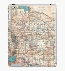 Topographic map iPad Case/Skin