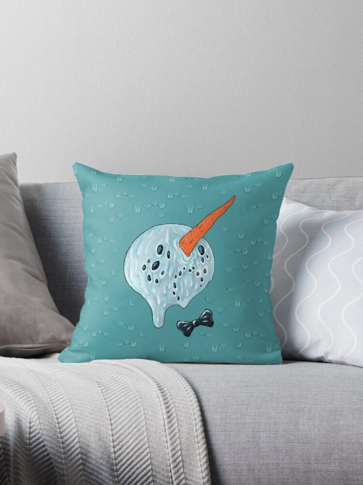 Summer Snowman by Rebecca Murphy