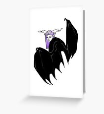Batgirl Greeting Card