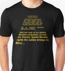 Sparks Nevada, Marshal on Mars T-Shirt