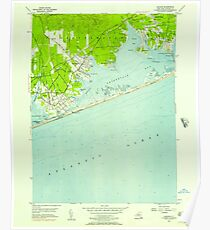 New York NY Quogue 136003 1956 24000 Poster