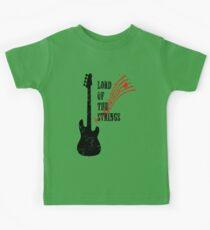 Lord Of The Strings Kids Tee