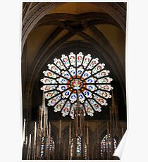 Great Rose Window Poster