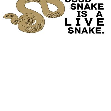Live Snake by sogr00d
