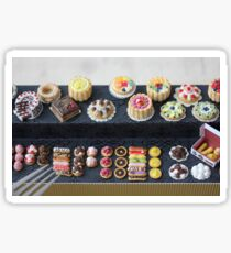 Rainbow Pastry and Cakes Sticker