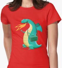 Sunshine Dragon Womens Fitted T-Shirt