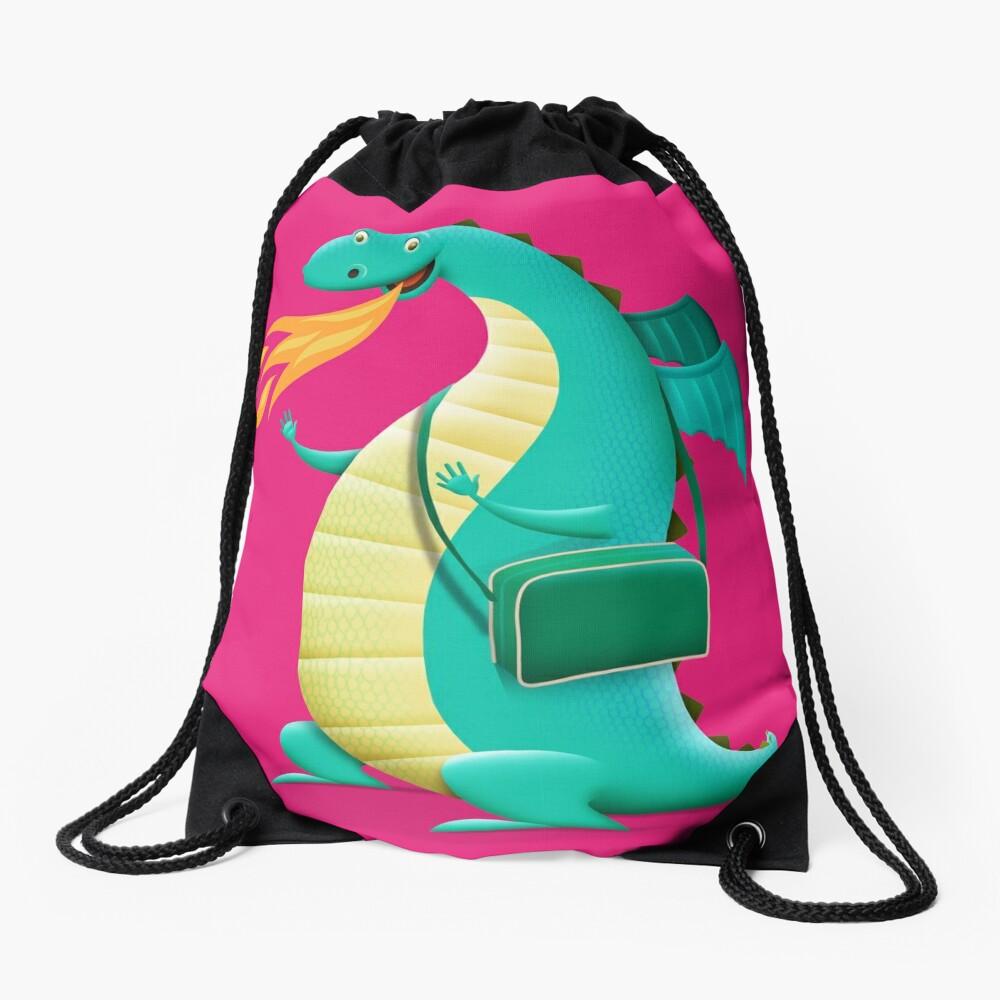 Sunshine Dragon Drawstring Bag