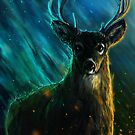 Trans-dimensional Space Deer by Rhunyc
