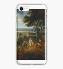 Jacques d'Arthois RUDOLF HAPSBURG  HANDING OVER HIS HORSE TO A PRIEST DELIVERING THE VIATICUM iPhone Case/Skin
