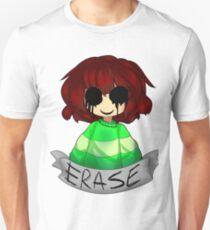 Undertale - Chara ERASE Unisex T-Shirt
