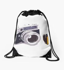 Film camera Drawstring Bag