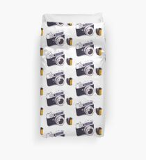 Film camera Duvet Cover
