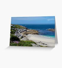 SENNEN COVE VIEW, CORNWALL Greeting Card