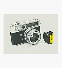 Retro photography Photographic Print