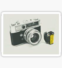 Retro photography Sticker
