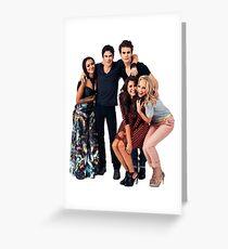 Vampire Diaries cast 2 Greeting Card