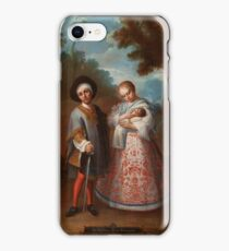 From Spaniard and Albino, Return Backwards (IX. De español y albina, torna atrás) Juan Patricio Morlete Ruiz  iPhone Case/Skin