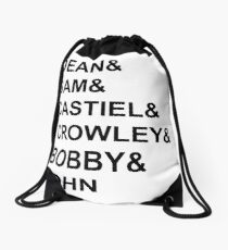 Supernatural - Style  Drawstring Bag