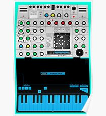 Synthi A - VCS3 Synth Poster