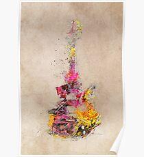 Póster Guitarra