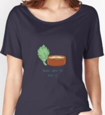 Hummus Where The Heart Is.  Women's Relaxed Fit T-Shirt