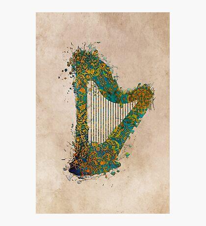Harp Photographic Print