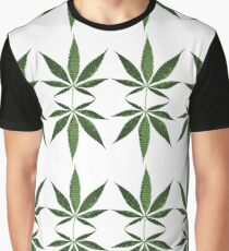 Canabis leaves 2 Graphic T-Shirt