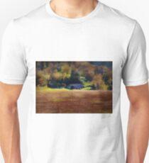 Watercolor Barn Southwest Wisconsin Unisex T-Shirt