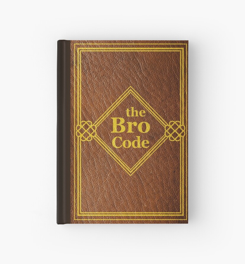 Book Cover Paper Zip Code : Quot himym the bro code hardcover journals by yithian