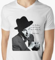Frank Sinatra Mens V-Neck T-Shirt