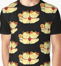 """FortuNeko - """"Toffee & Candy"""" Graphic T-Shirt"""