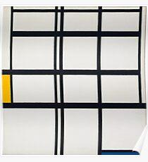 Piet Mondrian, Dutch, Title Composition in Y Poster