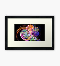 Balloon Spiral Framed Print