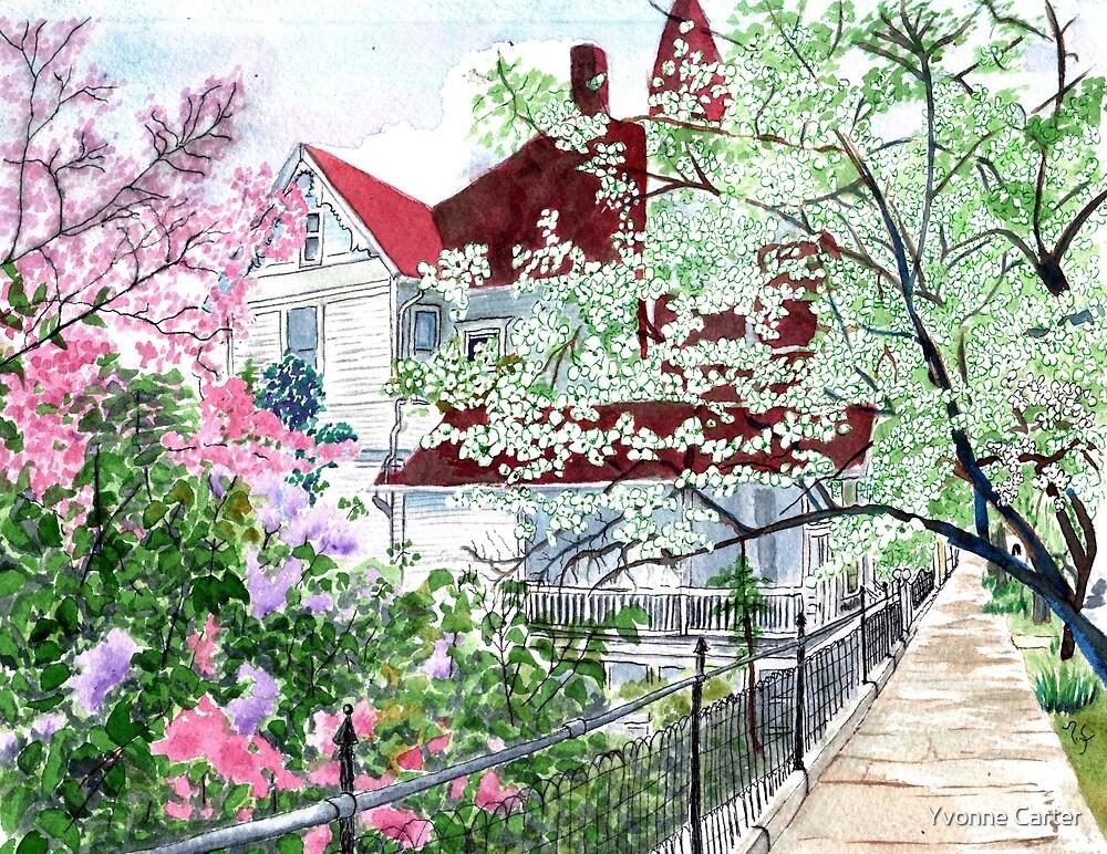 Eureka Springs Springtime by Yvonne Carter