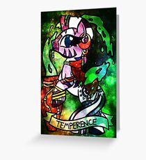 ArcanaPonies - Temperence Greeting Card