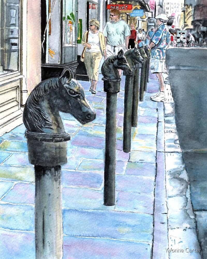 New Orleans French Quarter by Yvonne Carter
