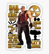 Duke Nukem Sticker