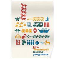 John Finnemore's Souvenir Pictograms Poster