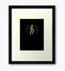 Donatello - Sprite Badge Framed Print