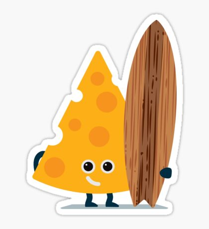 Character Building - Cheeseboarder Sticker