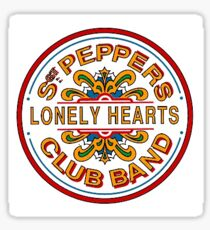 SGT PEPPERS Sticker